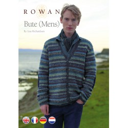 Bute Mens Herenvest in Felted Tweed