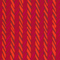 Herringbone Stripe Red (BM19.REDD)