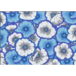 Picotte Poppies Blue (PJ52.BLUEX)
