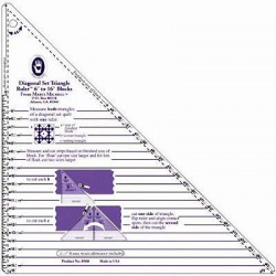 Large Diagonal Set Triangle Ruler