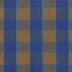 Checkerboard Plaid Ikat (WOKF003BLUEX)