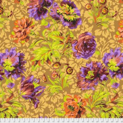 Baroque Floral (PJ090.BROWN)