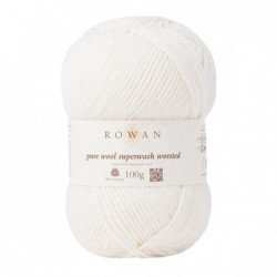 Pure Wool Worsted Ivory (101)
