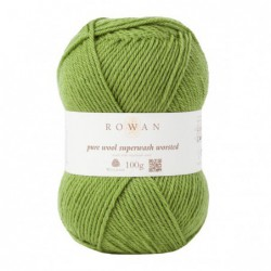 Pure Wool Worsted Olive (125)