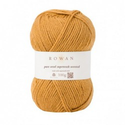 Pure Wool Worsted Gold (133)