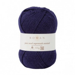 Pure Wool Worsted Navy (149)