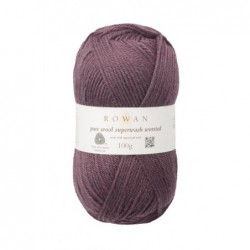 Pure Wool Worsted Raisin (190)