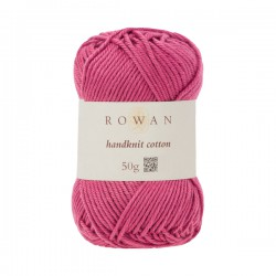 Handknit Cotton Raspberry...
