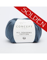 All Seasons Cotton van Katia - glanzend katoenen breigaren