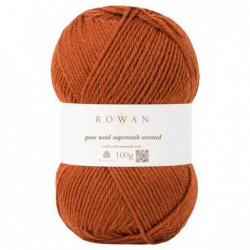 Pure Wool Worsted Rust (106)