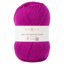 Pure Wool Worsted Magenta...