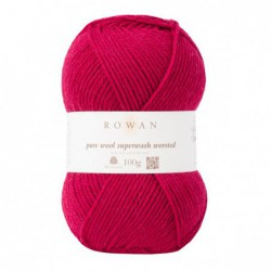 Pure Wool Worsted Rich Red...